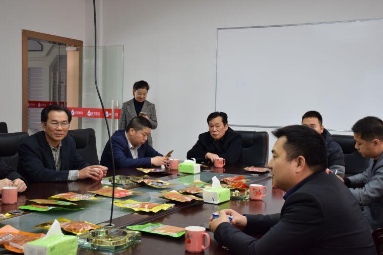 岳品送港专项工作组莅临BOB食品参观指导
